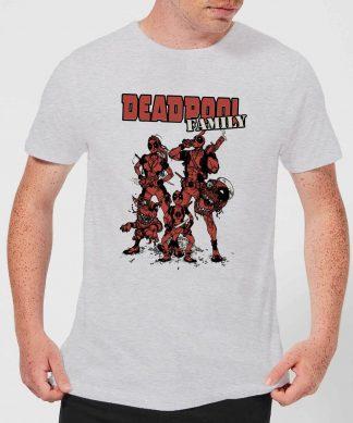 T-Shirt Homme Deadpool Photo de Famille Marvel - Gris - XS - Gris chez Casa Décoration