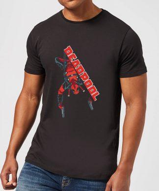 T-Shirt Homme Deadpool (Marvel) Hang Split - Noir - XS chez Casa Décoration