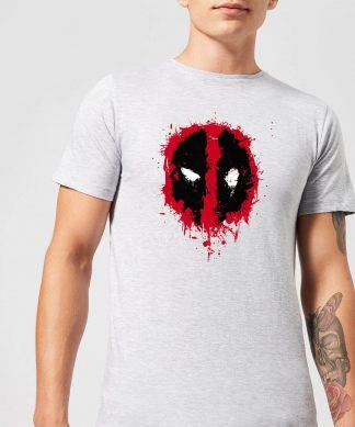 T-Shirt Homme Deadpool (Marvel) Splat Face - Gris - XS chez Casa Décoration