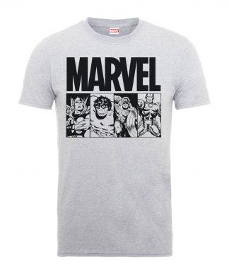 T-Shirt Homme Die By My Hand - Marvel Comics - Gris - XS - Gris chez Casa Décoration
