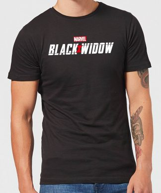 Black Widow Movie Logo Men's T-Shirt - Black - XS - Noir chez Casa Décoration