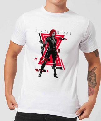 Black Widow Portrait Pose Men's T-Shirt - White - XS - Blanc chez Casa Décoration