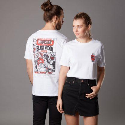 T-shirt Marvel Amazing Adventures Issue 1 - Blanc - Unisexe - XS - Blanc chez Casa Décoration