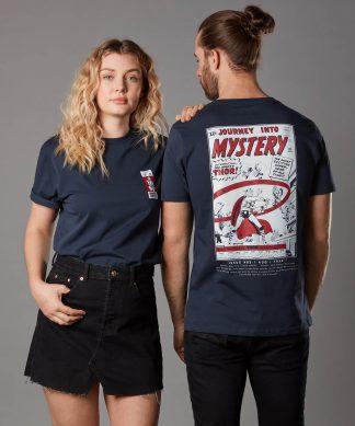 T-shirt Marvel Journey Into Mystery Issue 85 - Bleu Marine - Unisexe - XS - Navy chez Casa Décoration