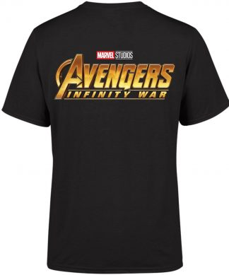 Marvel 10 Year Anniversary Avengers Infinity War Men's T-Shirt - Black - XS - Noir chez Casa Décoration