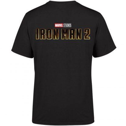 Marvel 10 Year Anniversary Iron Man 2 Men's T-Shirt - Black - XS - Noir chez Casa Décoration