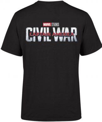 Marvel 10 Year Anniversary Captain America Civil War Men's T-Shirt - Black - XS - Noir chez Casa Décoration