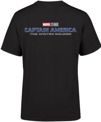 Marvel 10 Year Anniversary Captain America The Winter Soldier Men's T-Shirt - Black - XS - Noir chez Casa Décoration
