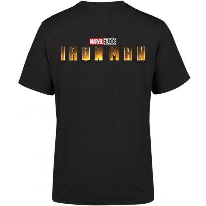 Marvel 10 Year Anniversary Iron Man Men's T-Shirt - Black - XS chez Casa Décoration