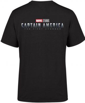 Marvel 10 Year Anniversary Captain America Men's T-Shirt - Black - XS chez Casa Décoration