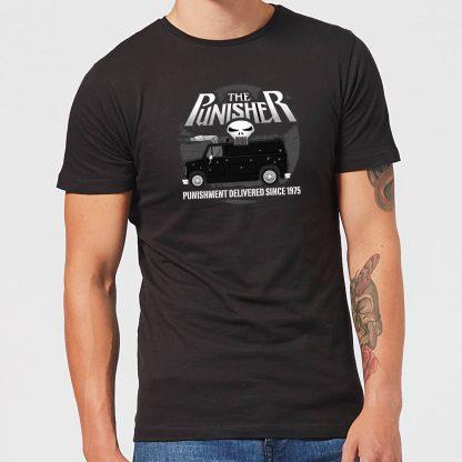 Marvel The Punisher Battle Van Men's T-Shirt - Black - XS chez Casa Décoration