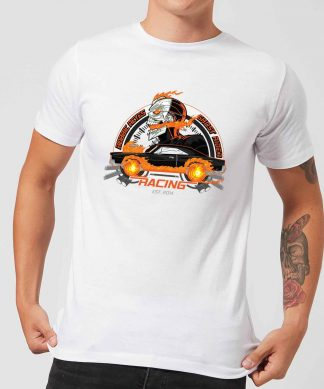 Marvel Ghost Rider Robbie Reyes Racing Men's T-Shirt - White - XS - Blanc chez Casa Décoration