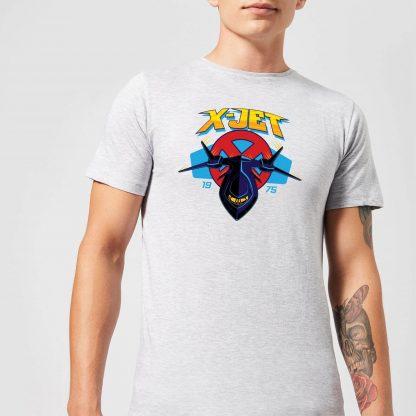 Marvel X-Men X-Jet Men's T-Shirt - Grey - XS - Gris chez Casa Décoration