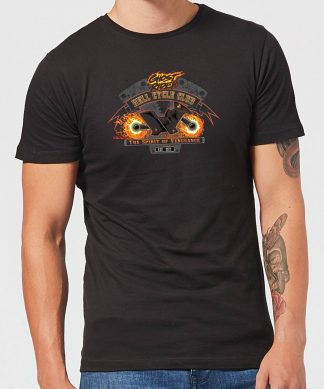 Marvel Ghost Rider Hell Cycle Club Men's T-Shirt - Black - XS - Noir chez Casa Décoration