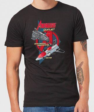 Marvel The Avengers Quinjet Men's T-Shirt - Black - XS - Noir chez Casa Décoration