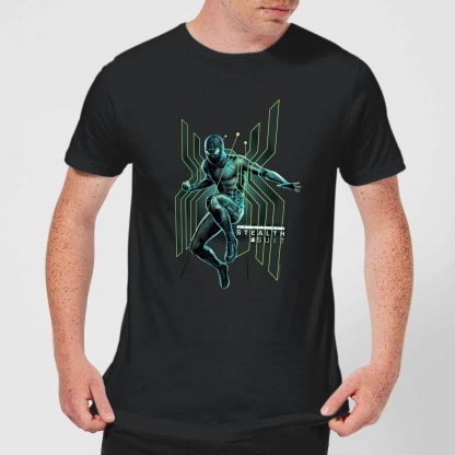 Spider-Man Far From Home Stealth Jump Men's T-Shirt - Black - XS - Noir chez Casa Décoration