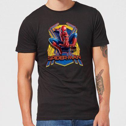 Spider-Man Far From Home Jump Men's T-Shirt - Black - XS chez Casa Décoration