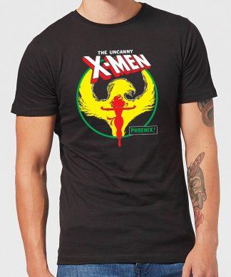 X-Men Dark Phoenix Circle Men's T-Shirt - Black - XS chez Casa Décoration