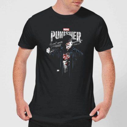 Marvel Frank Castle Men's T-Shirt - Black - XS chez Casa Décoration