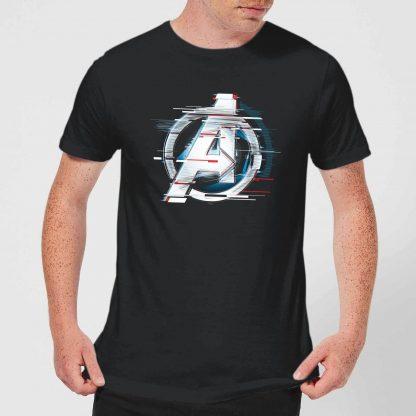 T-shirt Avengers: Endgame Logo Blanc - Homme - Noir - XS chez Casa Décoration