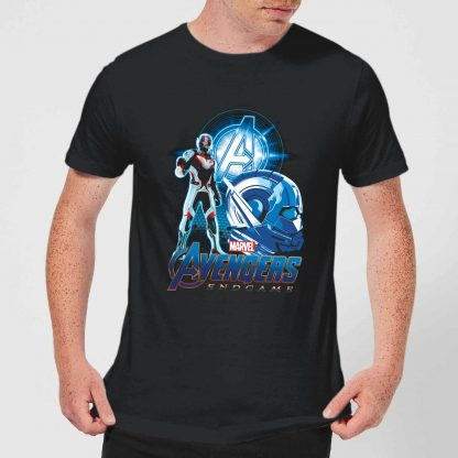 T-shirt Avengers: Endgame Ant Man Suit - Homme - Noir - XS - Noir chez Casa Décoration