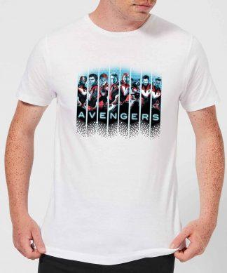 T-shirt Avengers: Endgame Character Split - Homme - Blanc - XS - Blanc chez Casa Décoration