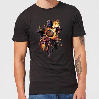 T-shirt Avengers: Endgame Explosion Team - Homme - Noir - XS chez Casa Décoration