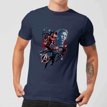 T-shirt Avengers: Endgame Shield Team - Homme - Bleu Marine - XS - Navy chez Casa Décoration