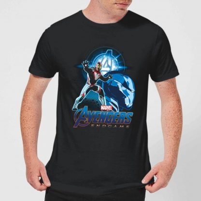 T-shirt Avengers: Endgame Iron Man Suit - Homme - Noir - XS - Noir chez Casa Décoration