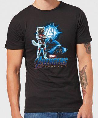 T-shirt Avengers: Endgame Rocket Suit - Homme - Noir - XS - Noir chez Casa Décoration