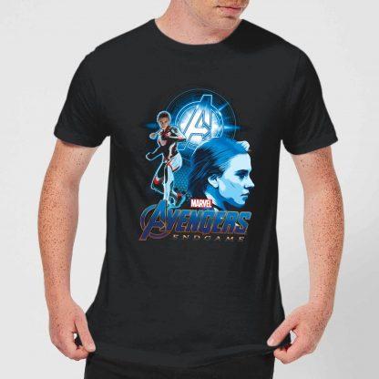 T-shirt Avengers: Endgame Widow Suit - Homme - Noir - XS - Noir chez Casa Décoration