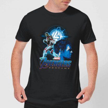 T-shirt Avengers: Endgame Hulk Suit - Homme - Noir - XS - Noir chez Casa Décoration