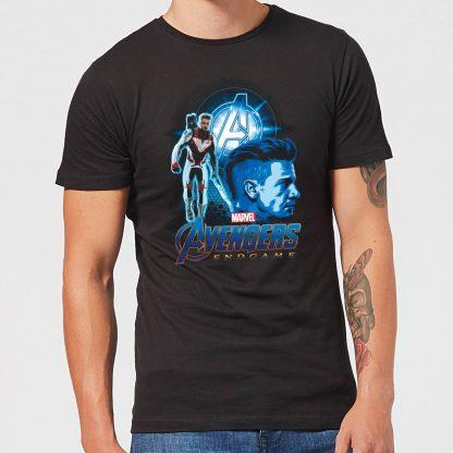 T-shirt Avengers: Endgame Hawkeye Suit - Homme - Noir - XS chez Casa Décoration