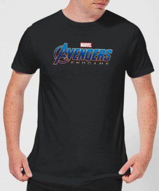 T-shirt Avengers Endgame Logo - Homme - Noir - XS - Noir chez Casa Décoration