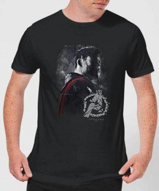 T-shirt Avengers Endgame Thor Brushed - Homme - Noir - XS chez Casa Décoration