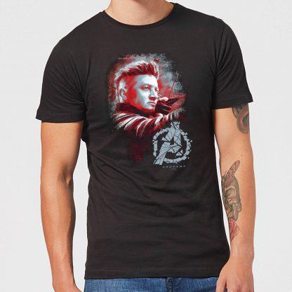 T-shirt Avengers Endgame Hawkeye Brushed - Homme - Noir - XS - Noir chez Casa Décoration