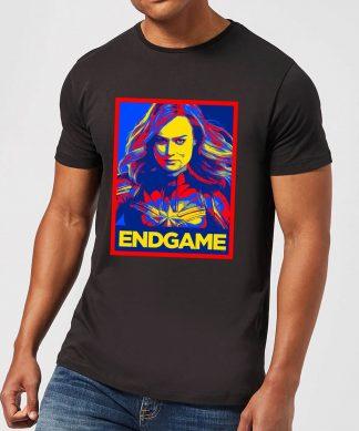 Avengers Endgame Captain Marvel Poster Men's T-Shirt - Black - XS - Noir chez Casa Décoration