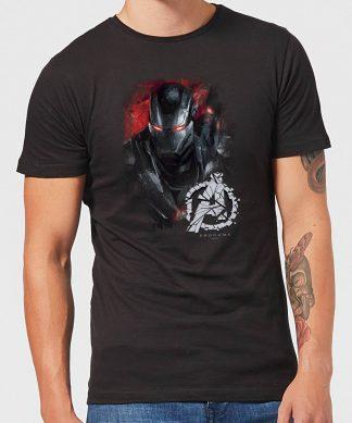 T-shirt Avengers Endgame War Machine Brushed - Homme - Noir - XS - Noir chez Casa Décoration