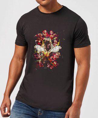 T-shirt Avengers Endgame Distressed Thanos - Homme - Noir - XS chez Casa Décoration
