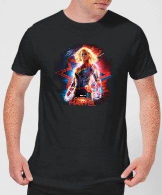 Captain Marvel Poster Men's T-Shirt - Black - XS chez Casa Décoration