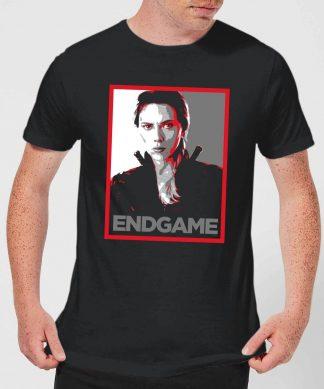 Avengers Endgame Black Widow Poster Men's T-Shirt - Black - XS - Noir chez Casa Décoration