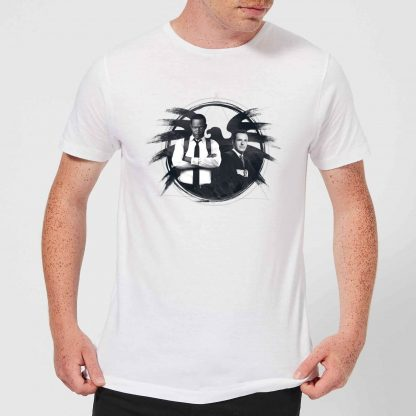 Captain Marvel Fury And Coulson S.H.I.E.L.D. Men's T-Shirt - White - XS - Blanc chez Casa Décoration
