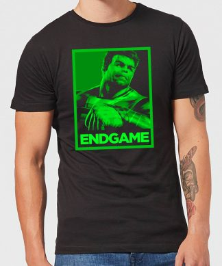 Avengers Endgame Hulk Poster Men's T-Shirt - Black - XS - Noir chez Casa Décoration