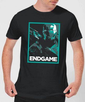 Avengers Endgame War Machine Poster Men's T-Shirt - Black - XS - Noir chez Casa Décoration