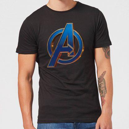 T-shirt Avengers Endgame Heroic Logo - Homme - Noir - XS chez Casa Décoration