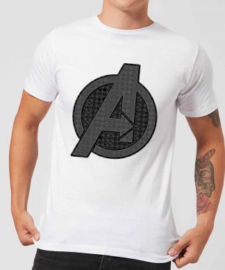 T-shirt Avengers Endgame Iconic Logo - Homme - Blanc - XS chez Casa Décoration