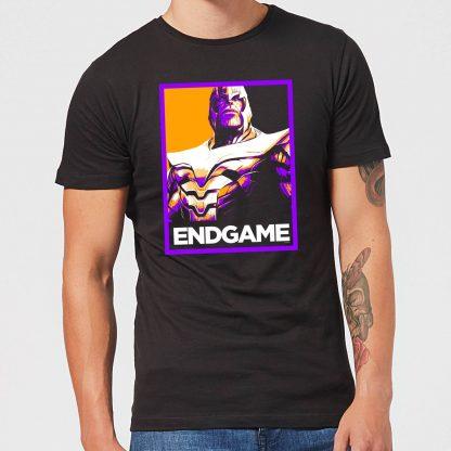 Avengers Endgame Thanos Poster Men's T-Shirt - Black - XS - Noir chez Casa Décoration