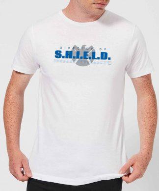 Marvel Avengers Director Of Shield Men's T-Shirt - White - XS - Blanc chez Casa Décoration