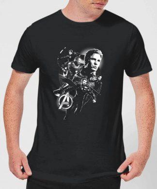 T-shirt Avengers Endgame Mono Heroes - Homme - Noir - XS - Noir chez Casa Décoration