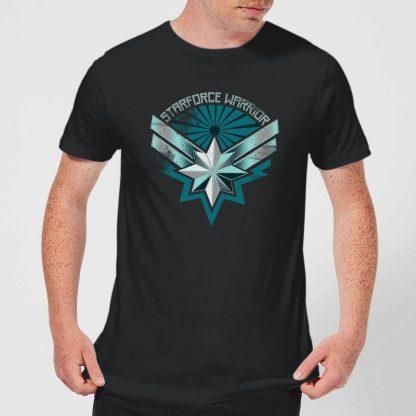Captain Marvel Starforce Warrior Men's T-Shirt - Black - XS chez Casa Décoration